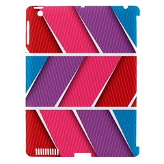 Abstract Background Colorful Apple Ipad 3/4 Hardshell Case (compatible With Smart Cover)