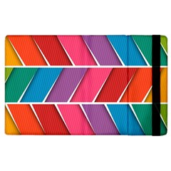 Abstract Background Colorful Apple Ipad 3/4 Flip Case
