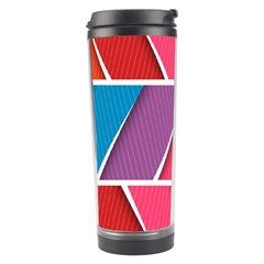 Abstract Background Colorful Travel Tumbler