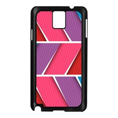 Abstract Background Colorful Samsung Galaxy Note 3 N9005 Case (black)