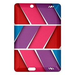 Abstract Background Colorful Amazon Kindle Fire Hd (2013) Hardshell Case by Nexatart