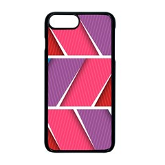 Abstract Background Colorful Apple Iphone 8 Plus Seamless Case (black)