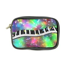 Piano Keys Music Colorful 3d Coin Purse