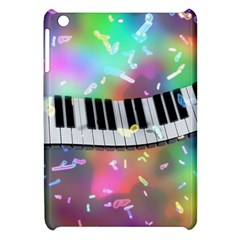 Piano Keys Music Colorful 3d Apple Ipad Mini Hardshell Case