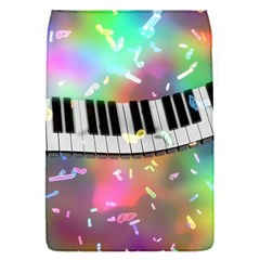 Piano Keys Music Colorful 3d Flap Covers (s)