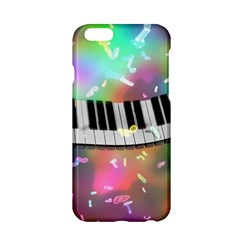Piano Keys Music Colorful 3d Apple Iphone 6/6s Hardshell Case