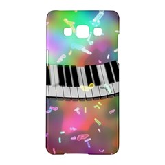 Piano Keys Music Colorful 3d Samsung Galaxy A5 Hardshell Case