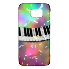 Piano Keys Music Colorful 3d Galaxy S6