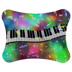Piano Keys Music Colorful 3d Jigsaw Puzzle Photo Stand (bow)