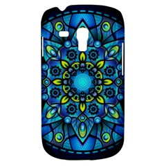 Mandala Blue Abstract Circle Galaxy S3 Mini