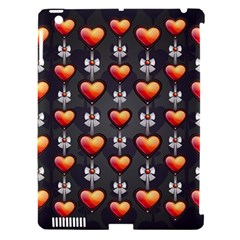 Love Heart Background Apple Ipad 3/4 Hardshell Case (compatible With Smart Cover)