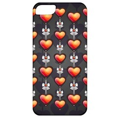 Love Heart Background Apple Iphone 5 Classic Hardshell Case