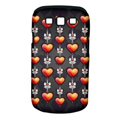 Love Heart Background Samsung Galaxy S Iii Classic Hardshell Case (pc+silicone)