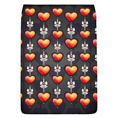 Love Heart Background Flap Covers (s)