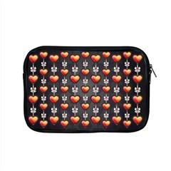 Love Heart Background Apple Macbook Pro 15  Zipper Case