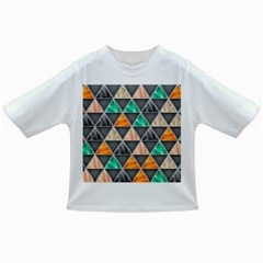Abstract Geometric Triangle Shape Infant/toddler T Shirts