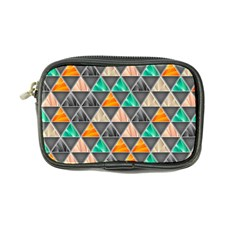 Abstract Geometric Triangle Shape Coin Purse