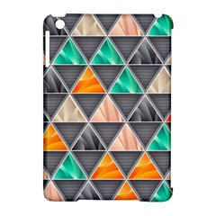 Abstract Geometric Triangle Shape Apple Ipad Mini Hardshell Case (compatible With Smart Cover)