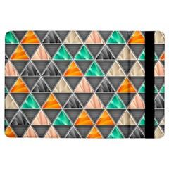 Abstract Geometric Triangle Shape Ipad Air Flip