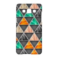 Abstract Geometric Triangle Shape Samsung Galaxy A5 Hardshell Case