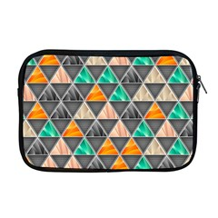 Abstract Geometric Triangle Shape Apple Macbook Pro 17  Zipper Case