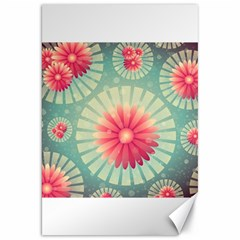 Background Floral Flower Texture Canvas 20  X 30