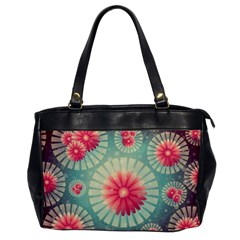 Background Floral Flower Texture Office Handbags