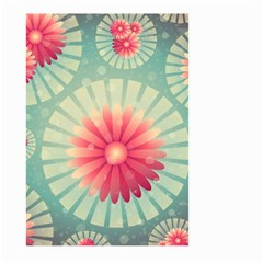 Background Floral Flower Texture Large Garden Flag (two Sides)