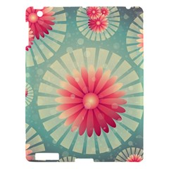 Background Floral Flower Texture Apple Ipad 3/4 Hardshell Case