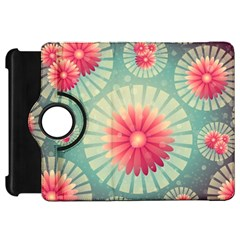Background Floral Flower Texture Kindle Fire Hd 7