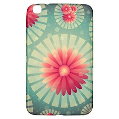 Background Floral Flower Texture Samsung Galaxy Tab 3 (8 ) T3100 Hardshell Case