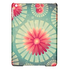 Background Floral Flower Texture Ipad Air Hardshell Cases