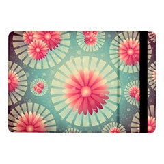 Background Floral Flower Texture Samsung Galaxy Tab Pro 10 1  Flip Case