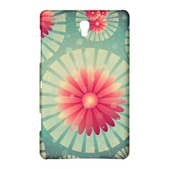 Background Floral Flower Texture Samsung Galaxy Tab S (8 4 ) Hardshell Case