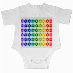 Background Colorful Geometric Infant Creepers