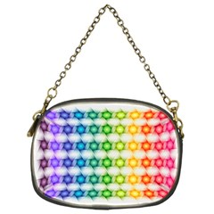 Background Colorful Geometric Chain Purses (one Side)