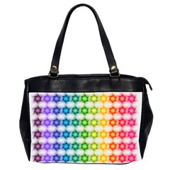 Background Colorful Geometric Office Handbags (2 Sides)