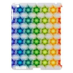 Background Colorful Geometric Apple Ipad 3/4 Hardshell Case (compatible With Smart Cover)