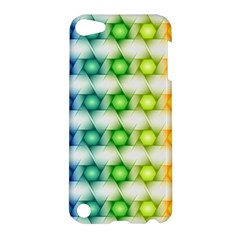 Background Colorful Geometric Apple Ipod Touch 5 Hardshell Case