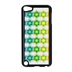 Background Colorful Geometric Apple Ipod Touch 5 Case (black)