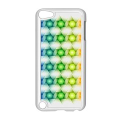 Background Colorful Geometric Apple Ipod Touch 5 Case (white) by Nexatart