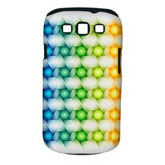 Background Colorful Geometric Samsung Galaxy S Iii Classic Hardshell Case (pc+silicone)