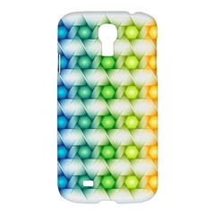 Background Colorful Geometric Samsung Galaxy S4 I9500/i9505 Hardshell Case