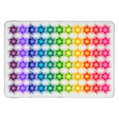 Background Colorful Geometric Samsung Galaxy Tab 8 9  P7300 Flip Case