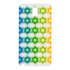 Background Colorful Geometric Samsung Galaxy Note 3 N9005 Hardshell Back Case