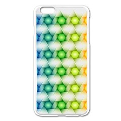 Background Colorful Geometric Apple Iphone 6 Plus/6s Plus Enamel White Case