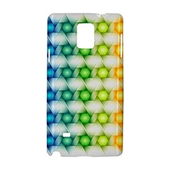 Background Colorful Geometric Samsung Galaxy Note 4 Hardshell Case