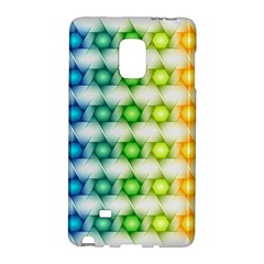 Background Colorful Geometric Galaxy Note Edge