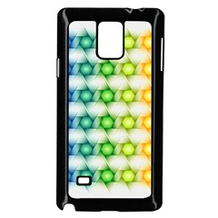 Background Colorful Geometric Samsung Galaxy Note 4 Case (black)