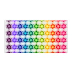 Background Colorful Geometric Satin Wrap